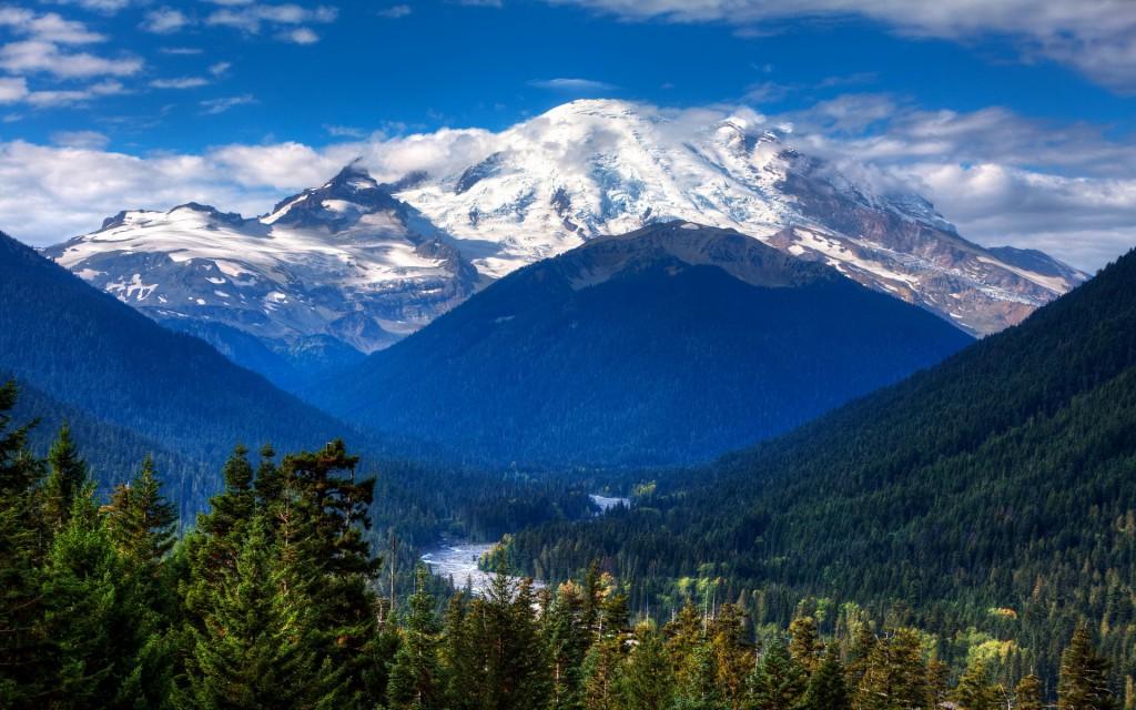 Mount Rainier from Near Chinook Pass