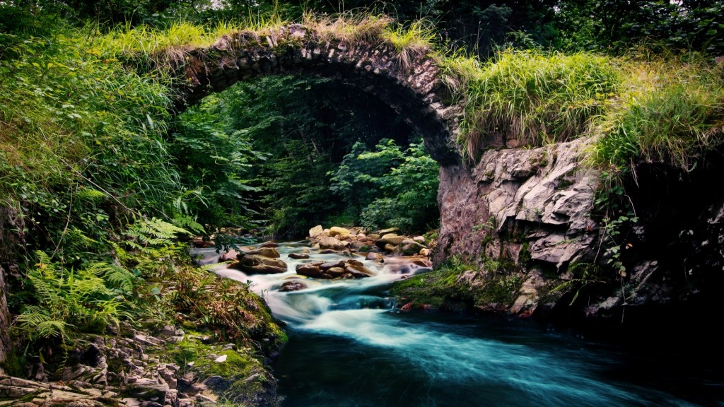 cool mountain stream wallpapers