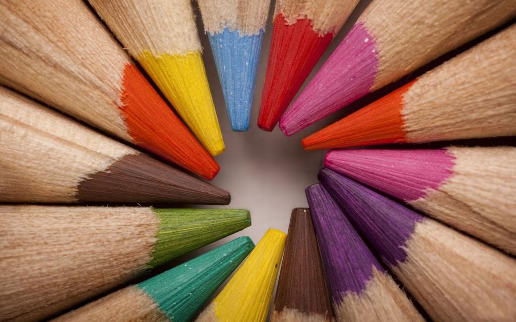 Color Pencil Wallpaper