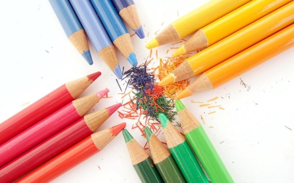 Как сделать красный карандаш 867