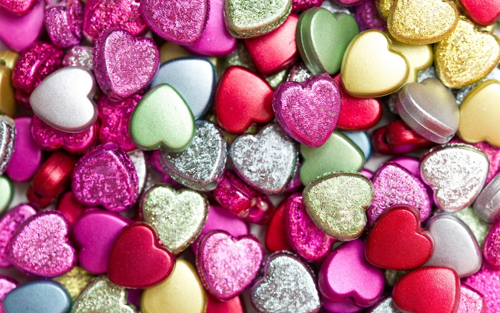 fantastic heart candy wallpapers