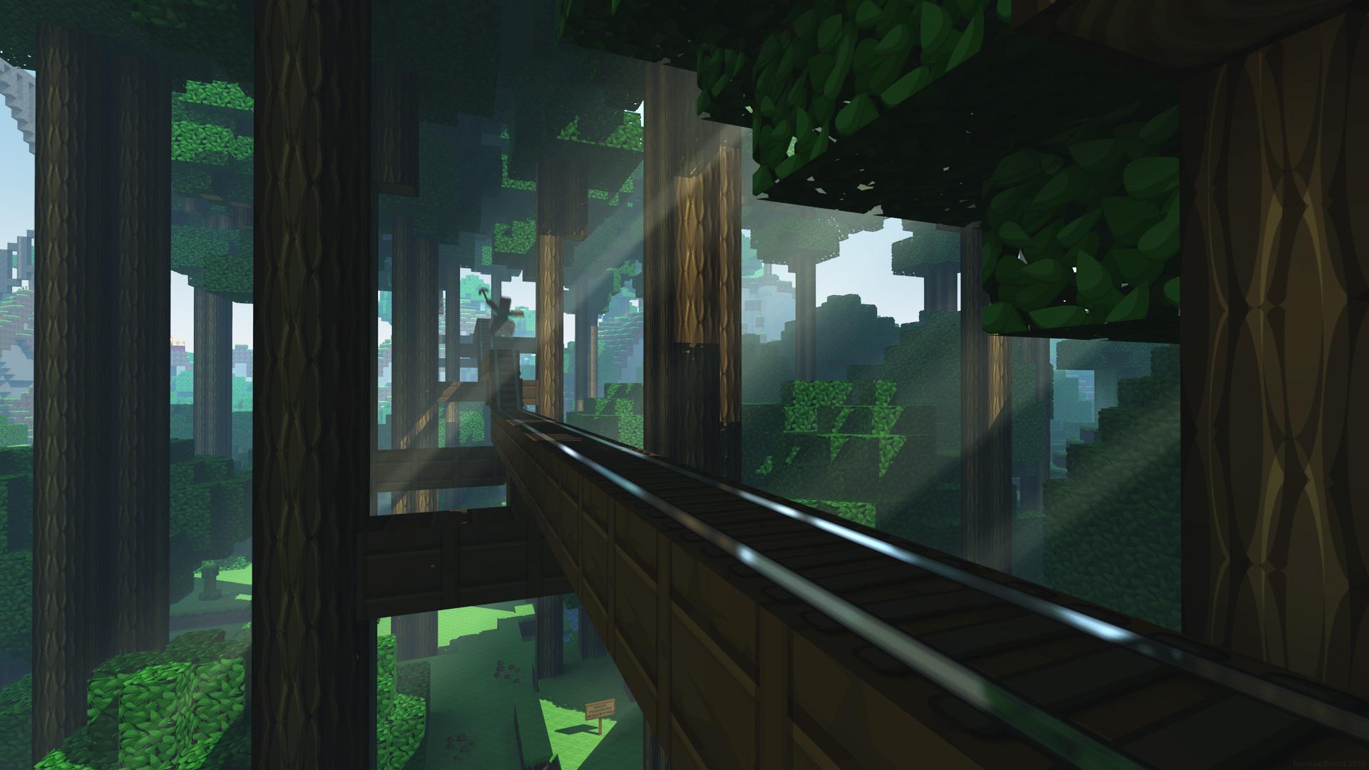 Minecraft Fondo De Pantalla Hd: 16 HD Minecraft Wallpapers