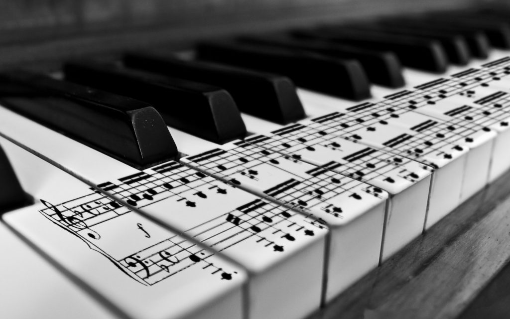 piano music notes wallpapers