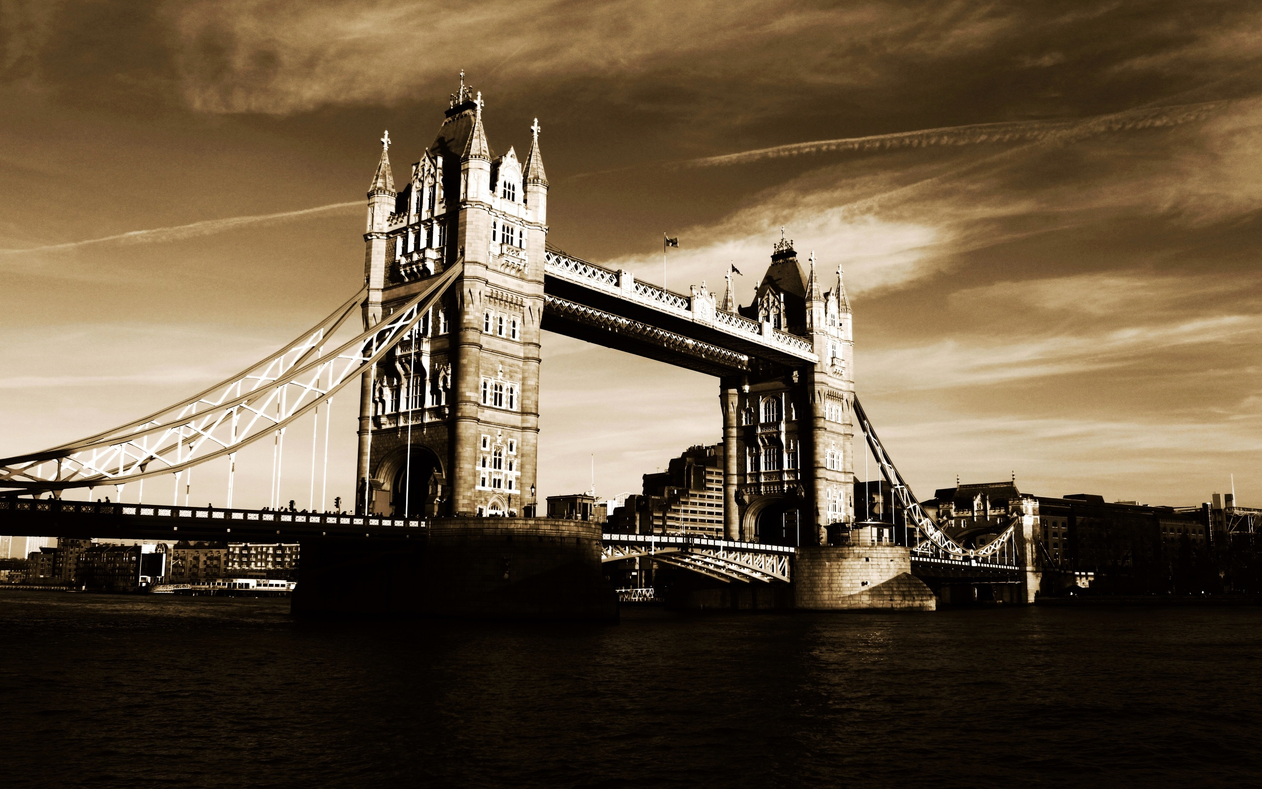 6 Wonderful HD Tower Bridge Wallpapers