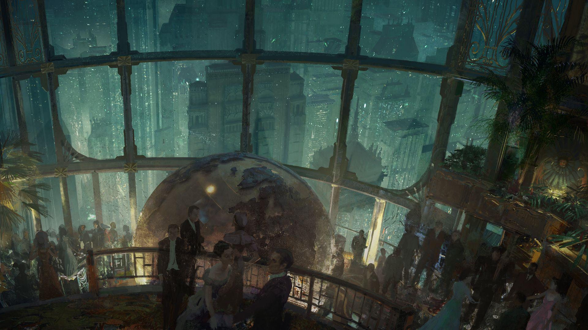 bioshock rapture city wallpaper the
