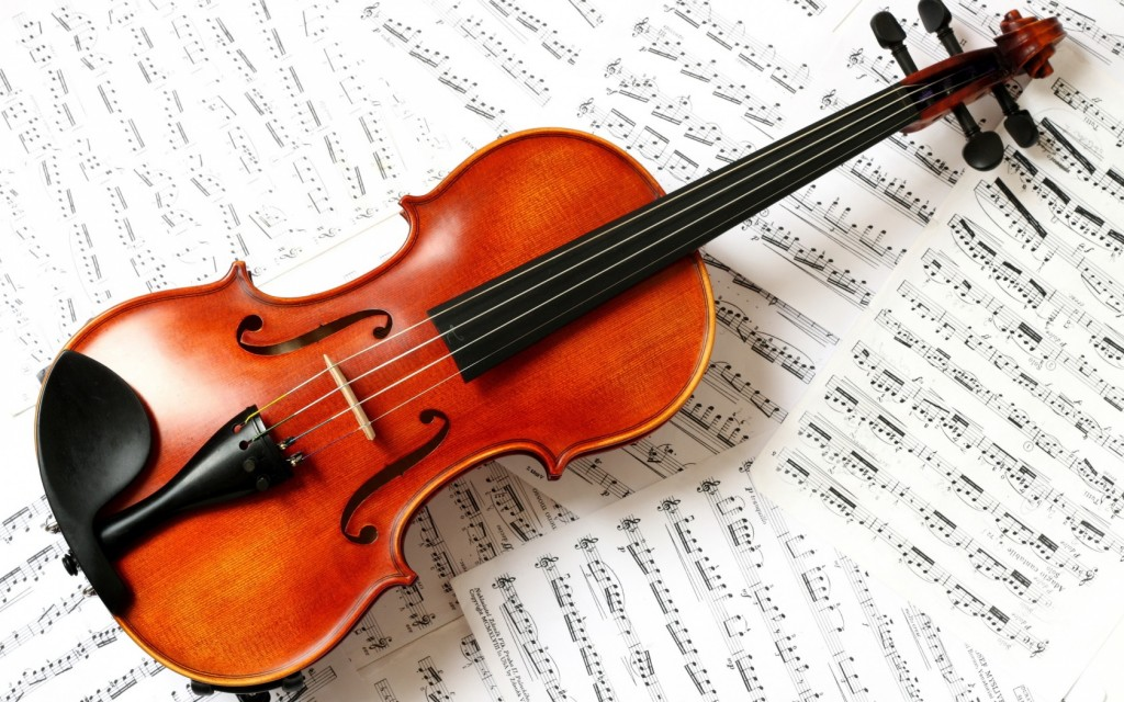 free violin wallpapers
