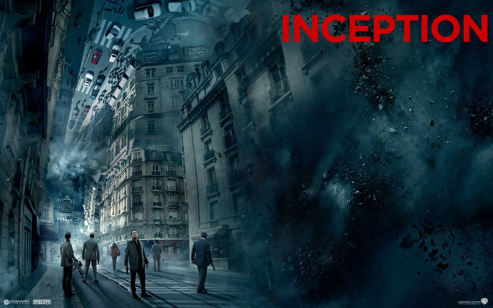 Movie Hd Wallpapers: 14 HD Inception Movie Wallpapers