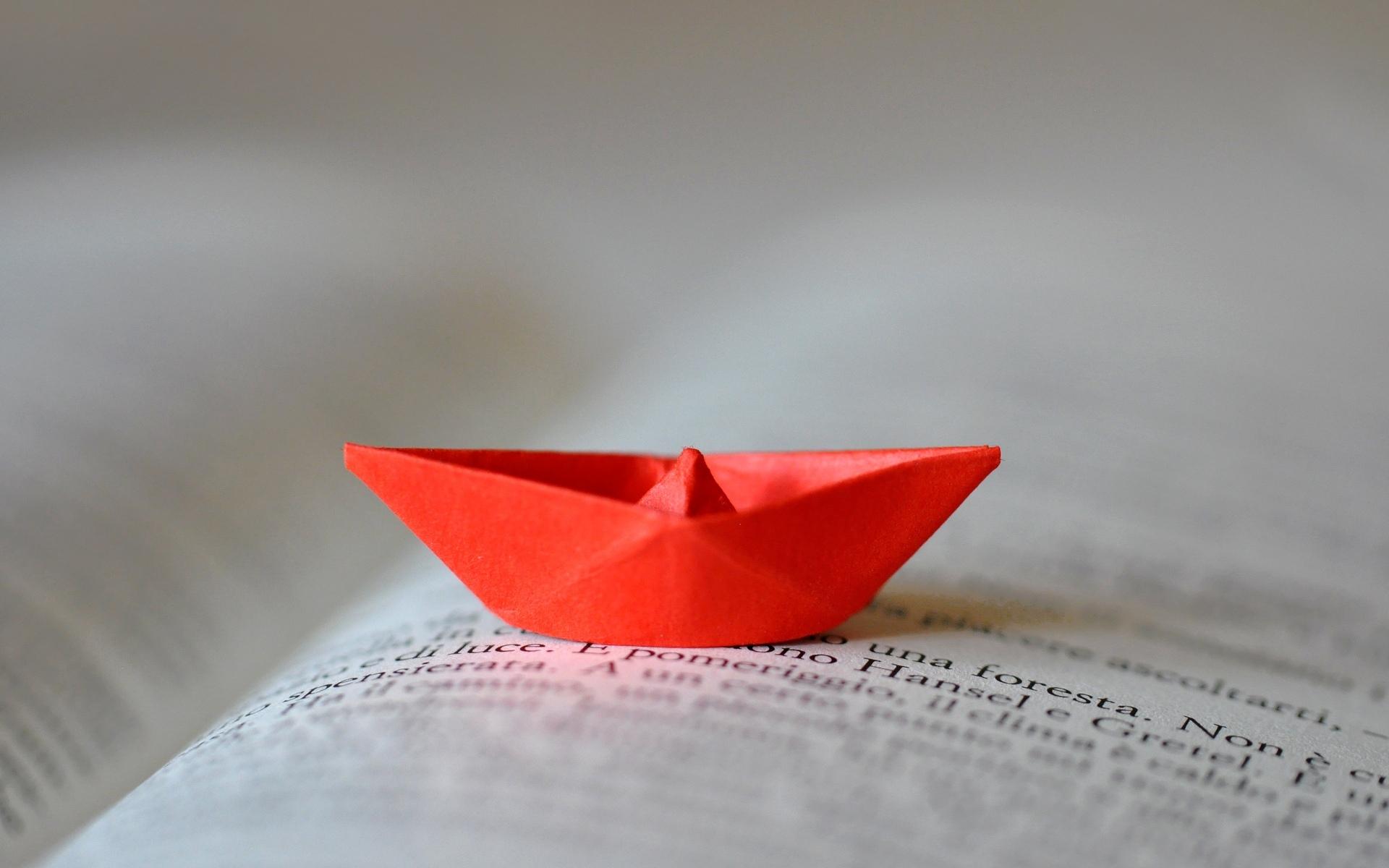 Раскрытая оригами