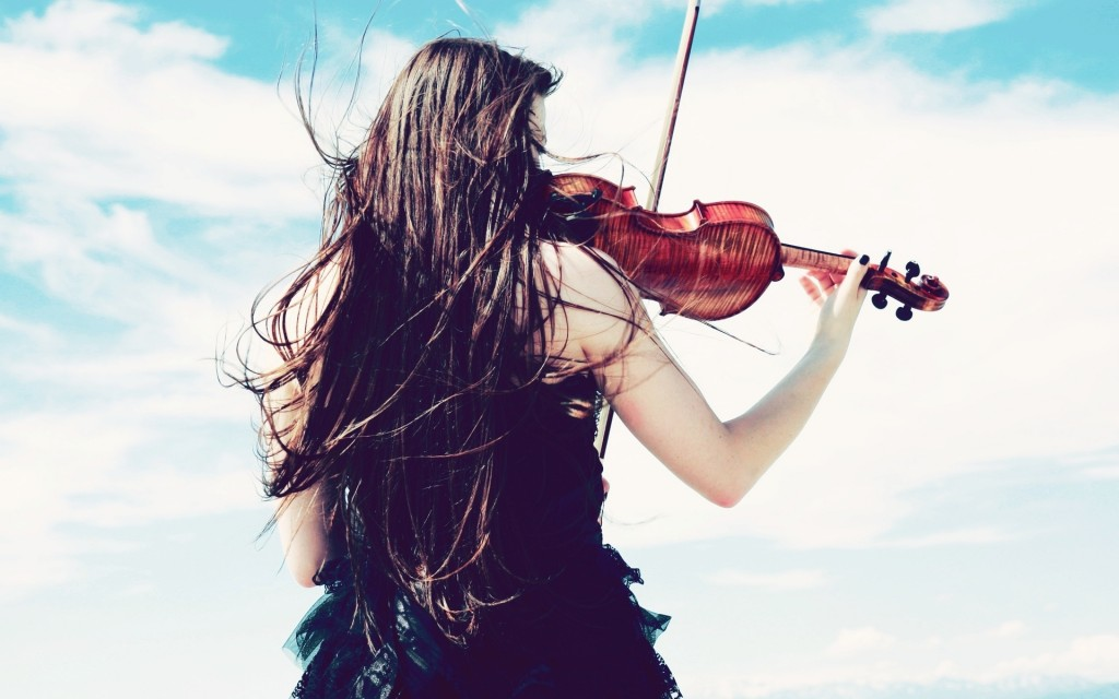 pretty violin wallpapers