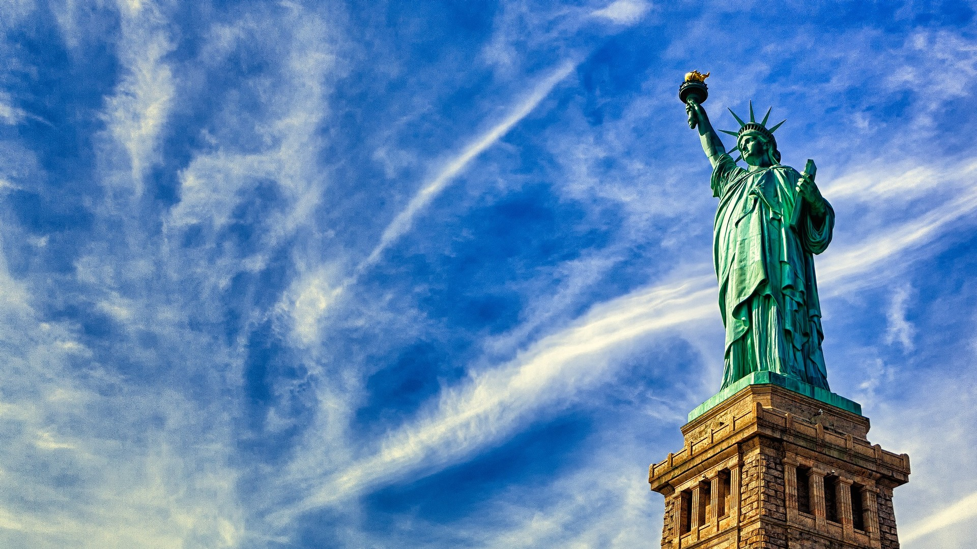 12 stunning hd statue of liberty wallpapers