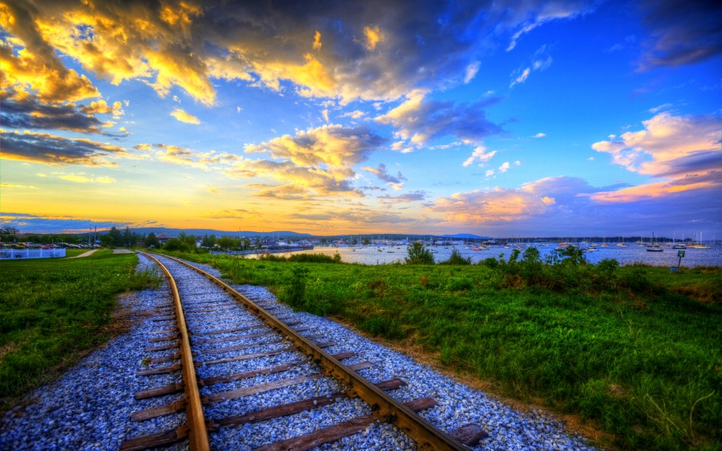 train track wallpapers