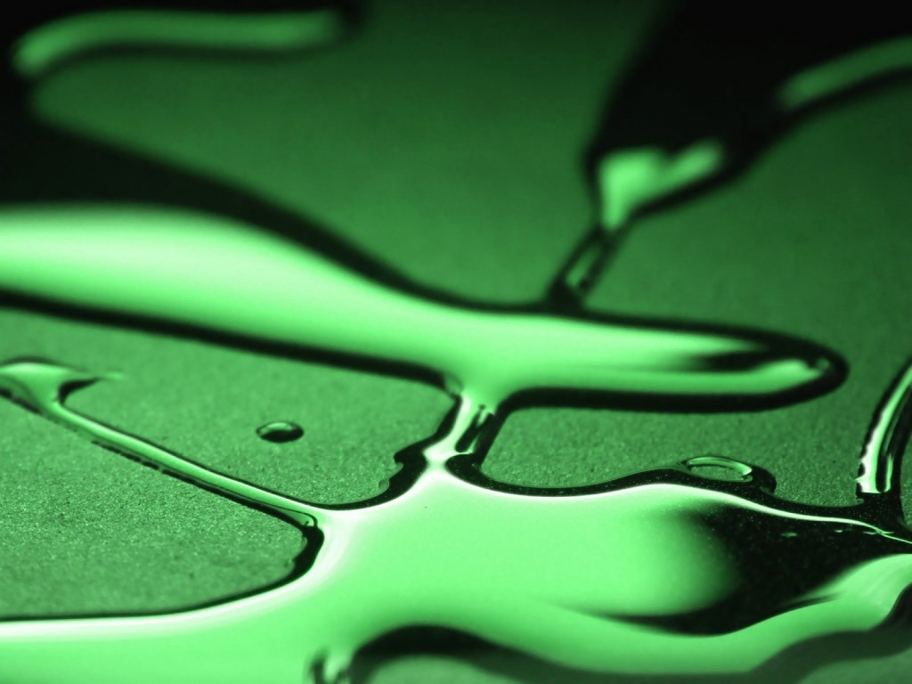 green liquid computer wallpapers