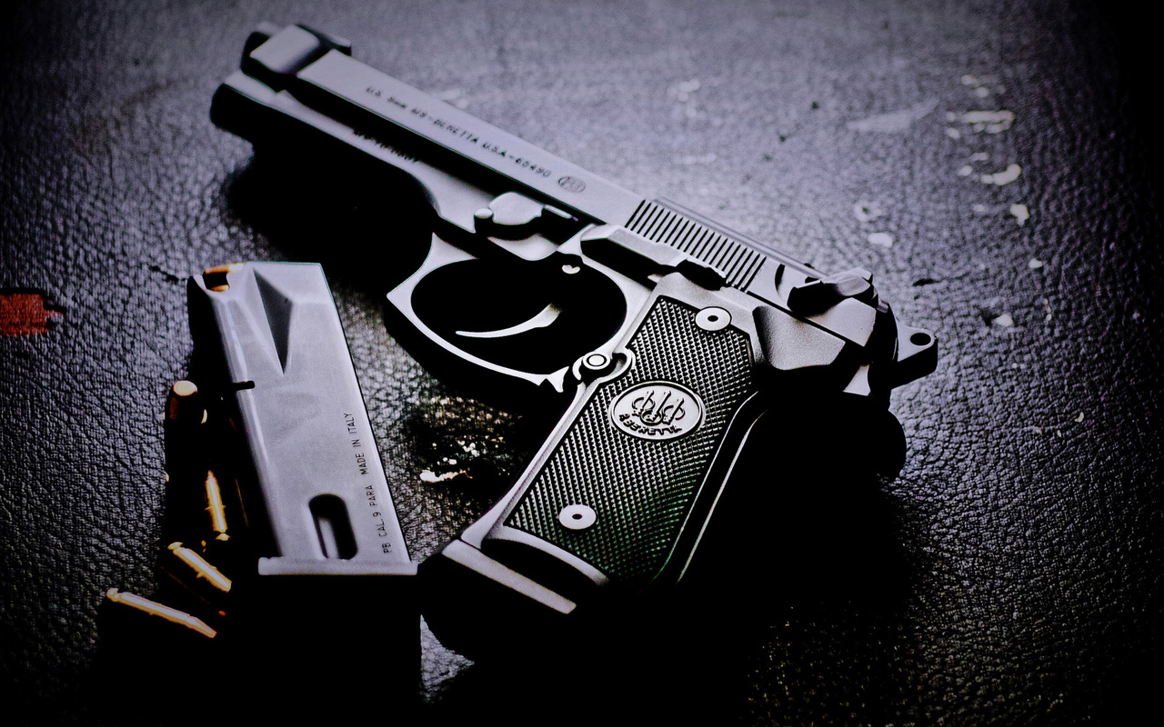 gun wallpaper for walls - photo #28