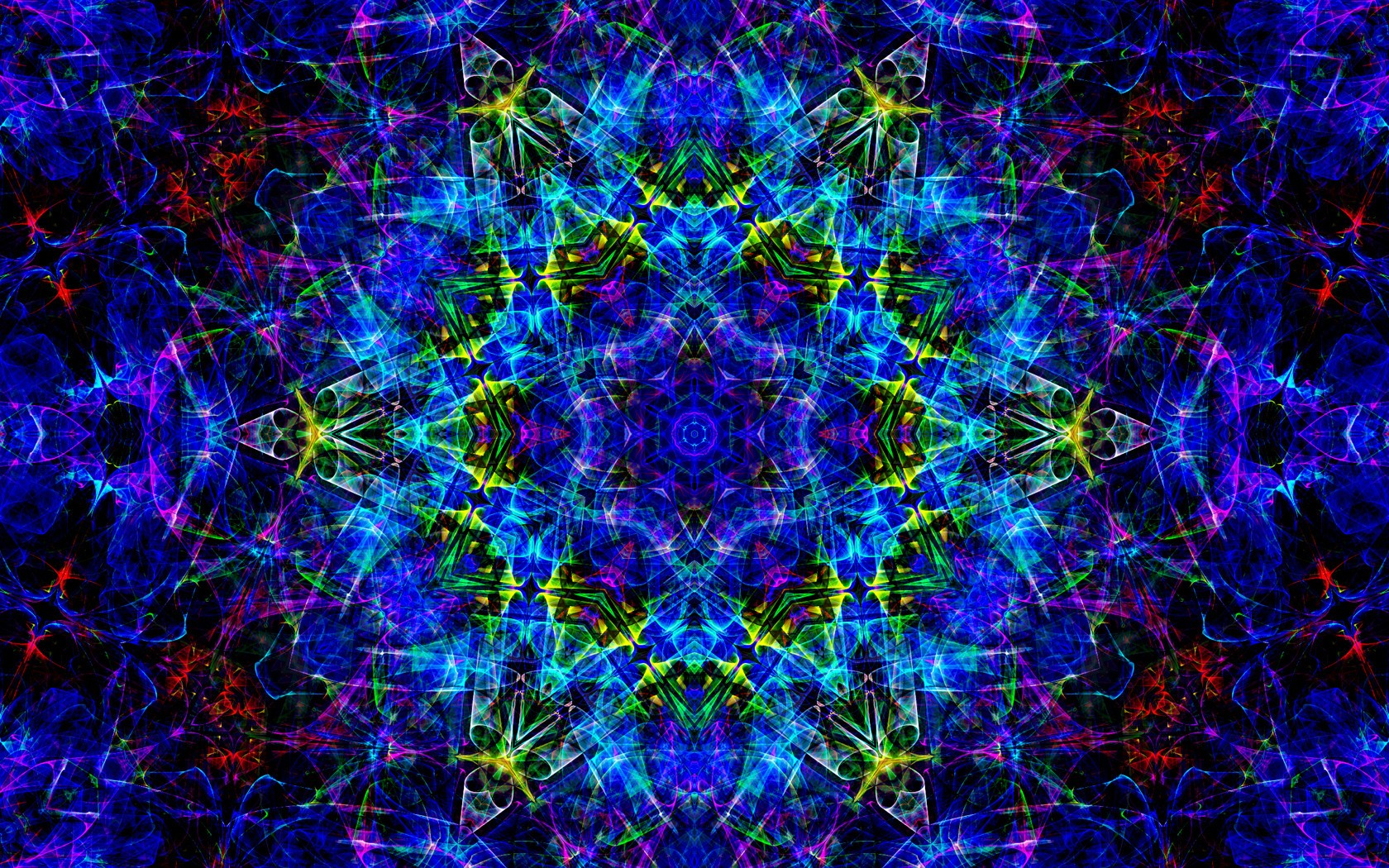 dreamy fractals abstract trippy - photo #8