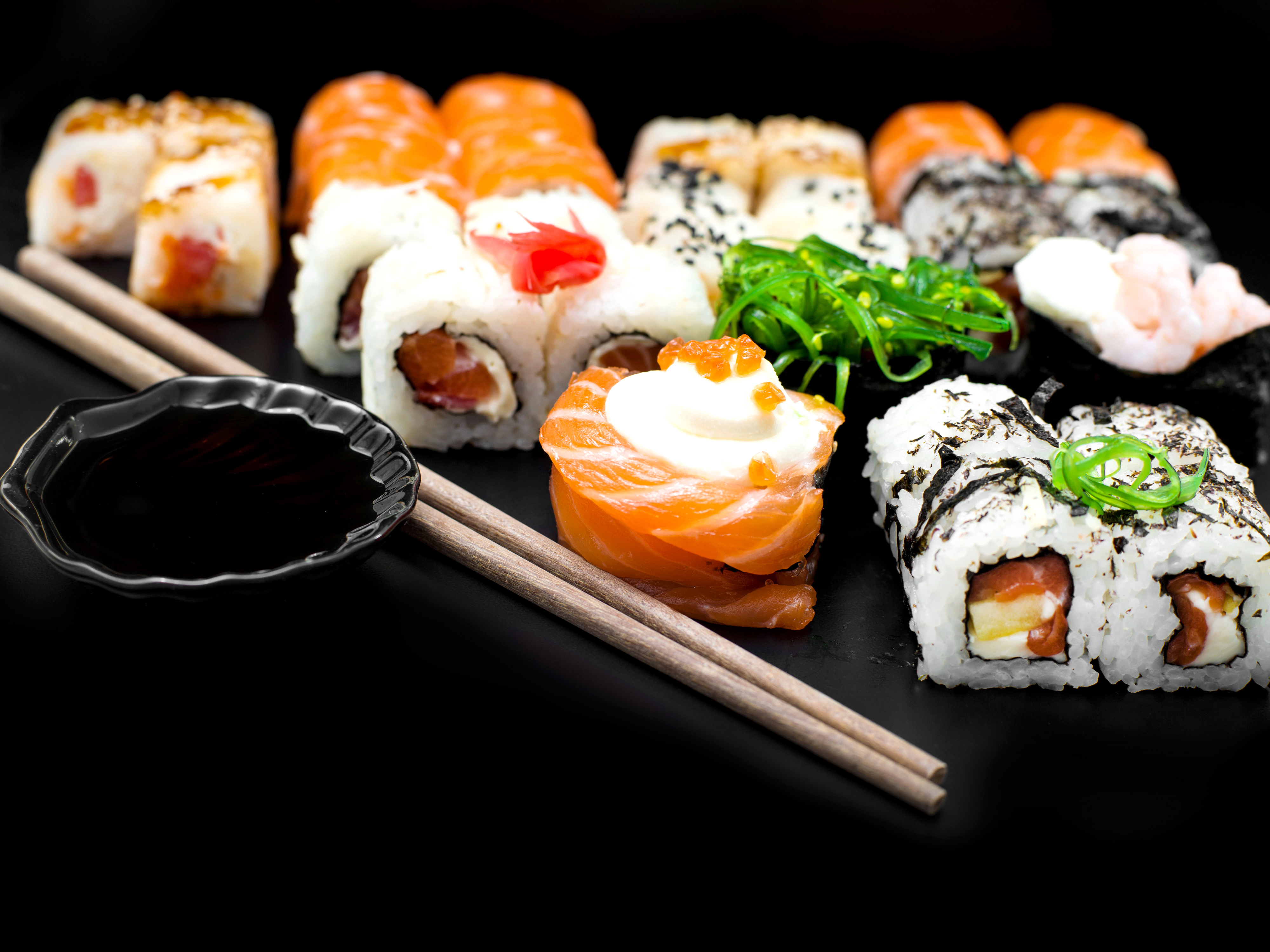 26 fantastic hd sushi wallpapers for Am asian cuisine