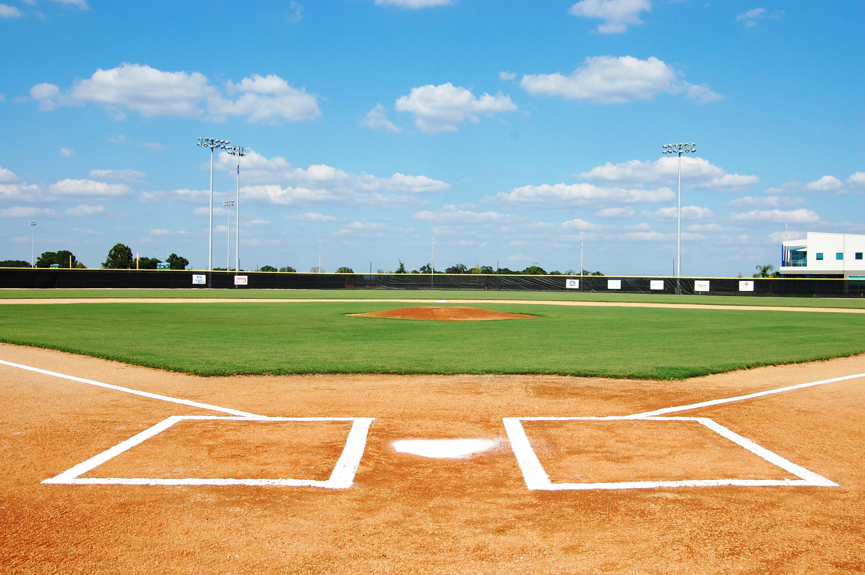 baseball field wallpaper
