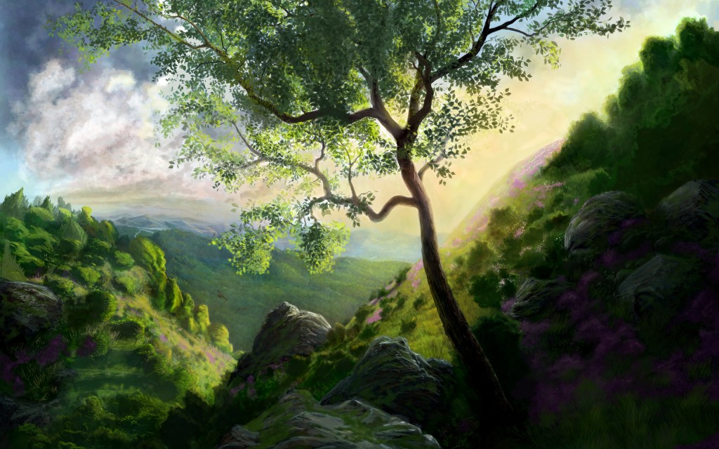 beautiful painting wallpapers