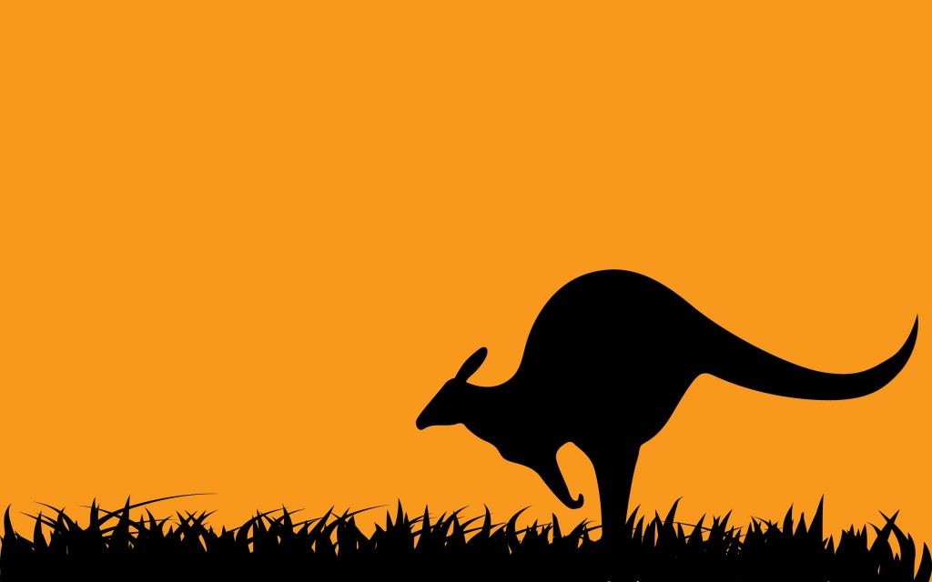 kangaroo art wallpapers