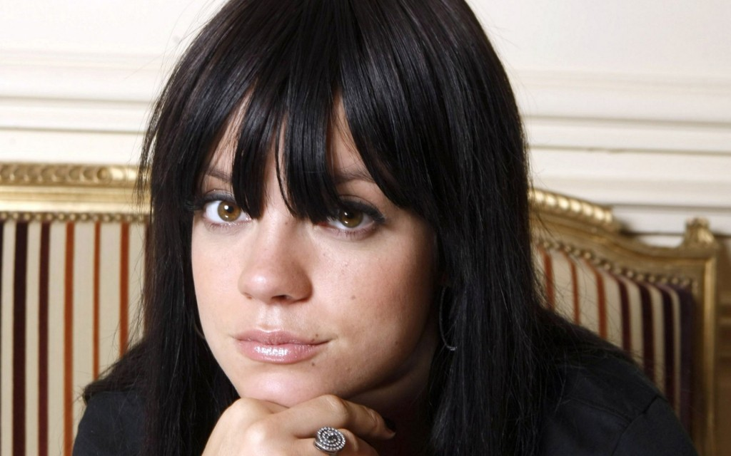 lily allen face wallpapers