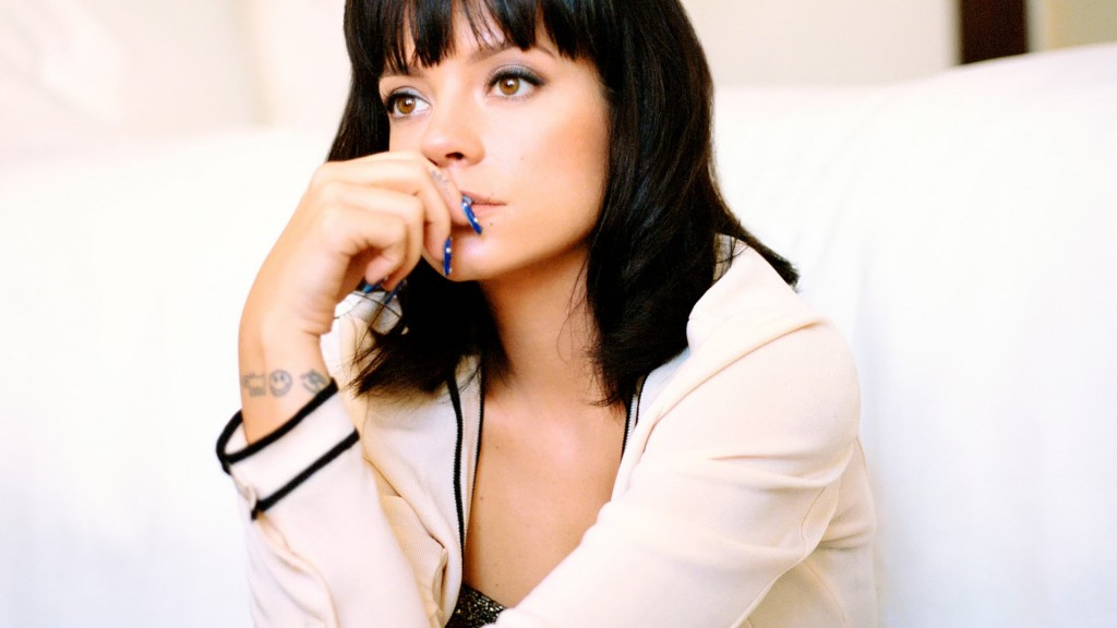 lily allen widescreen wallpapers