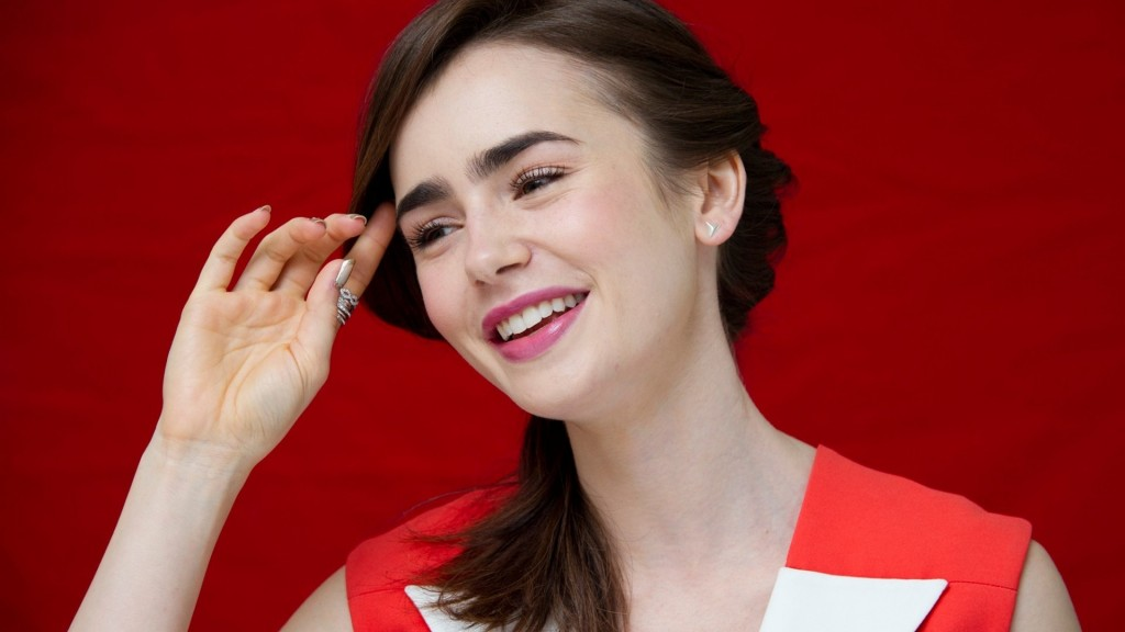 lily collins desktop wallpapers