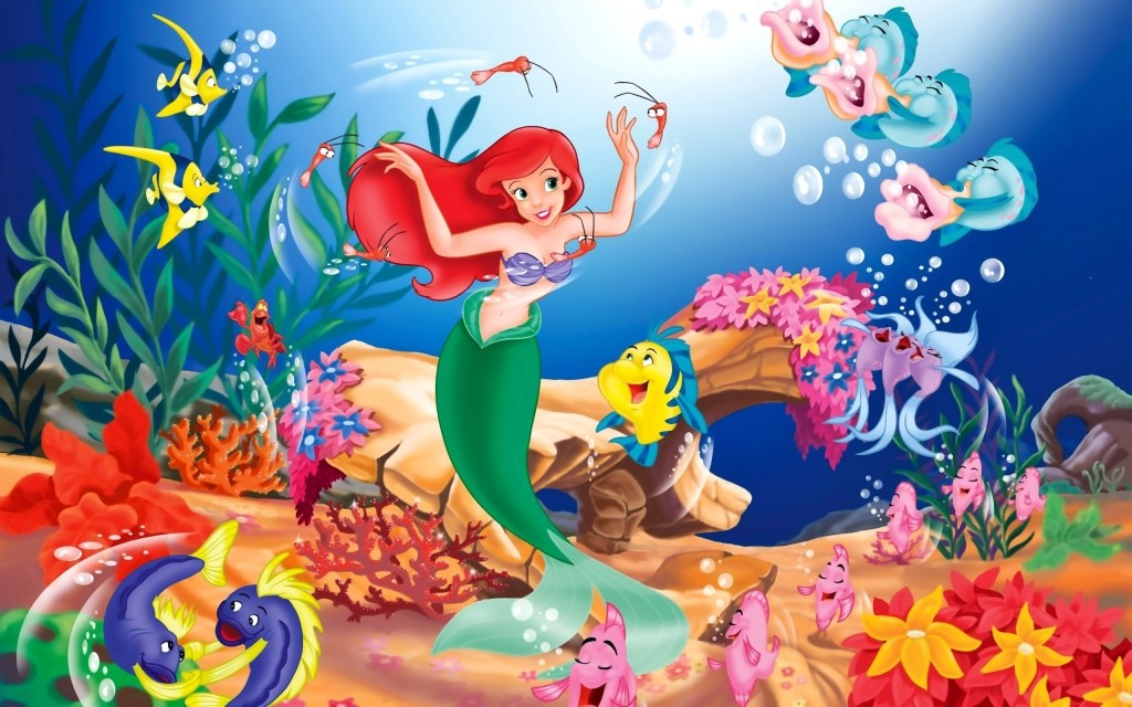little mermaid wallpapers