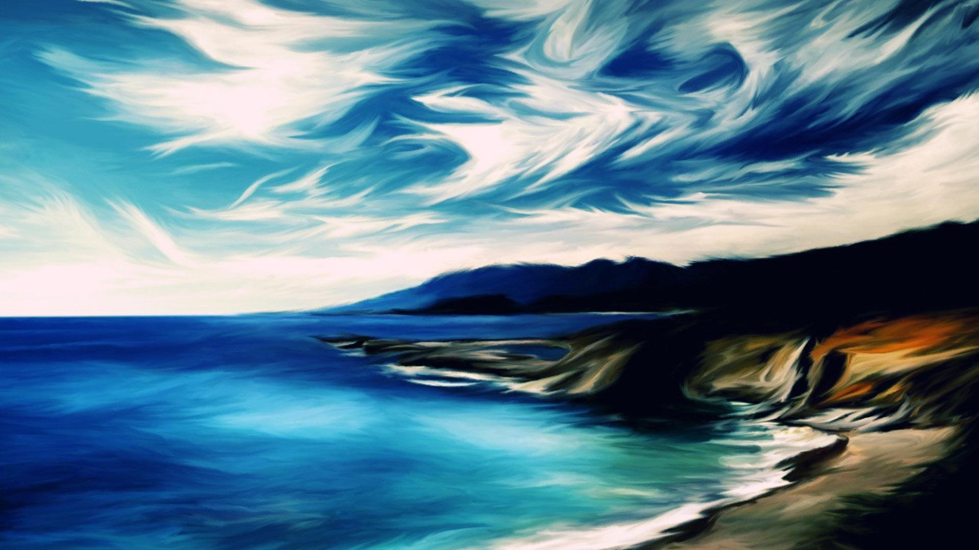 wallpaper painting desktop - photo #35