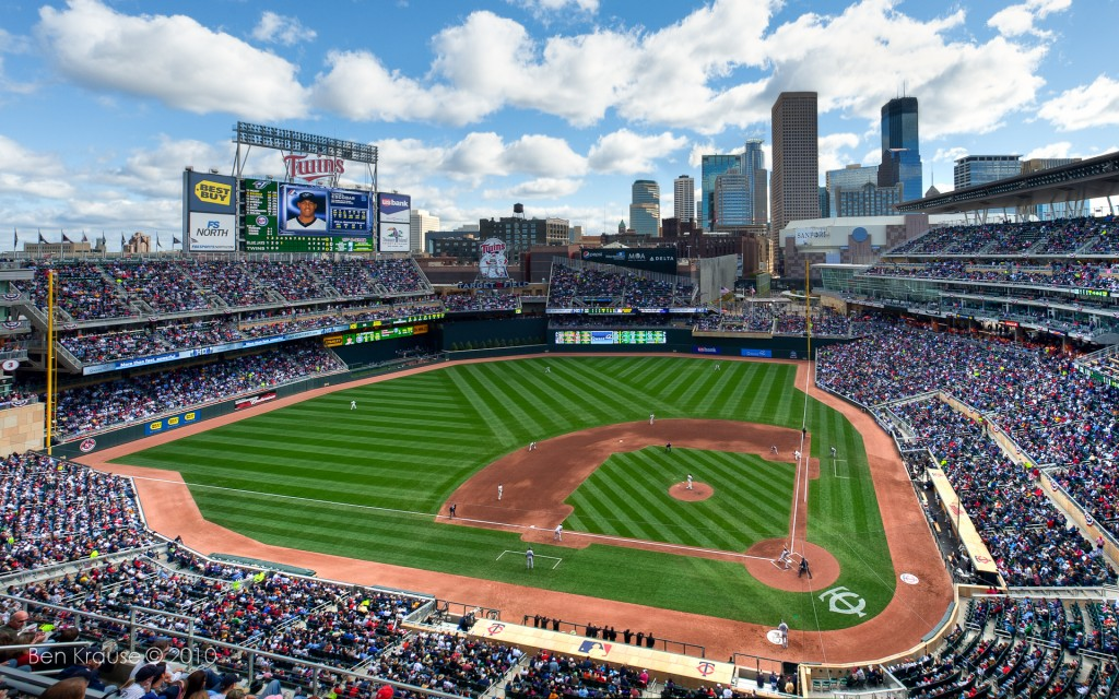 minnesota twins stadium wallpapers