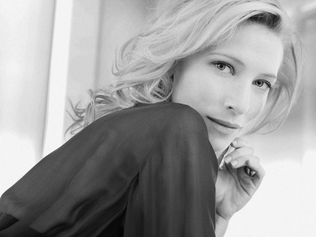 monochrome cate blanchett wallpapers