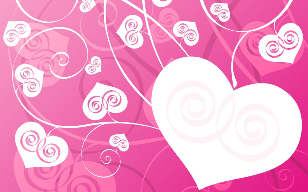 pink love desktop wallpapers