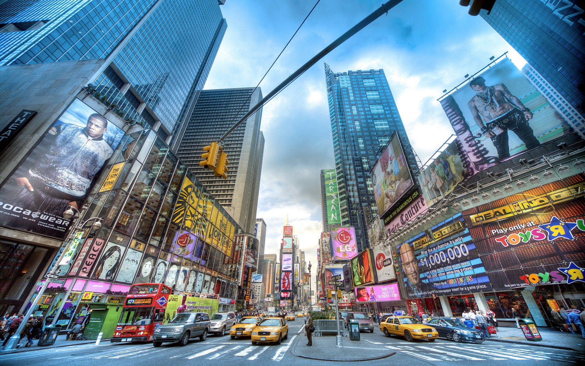 10 fantastic hd times square wallpapers for Architecture t square