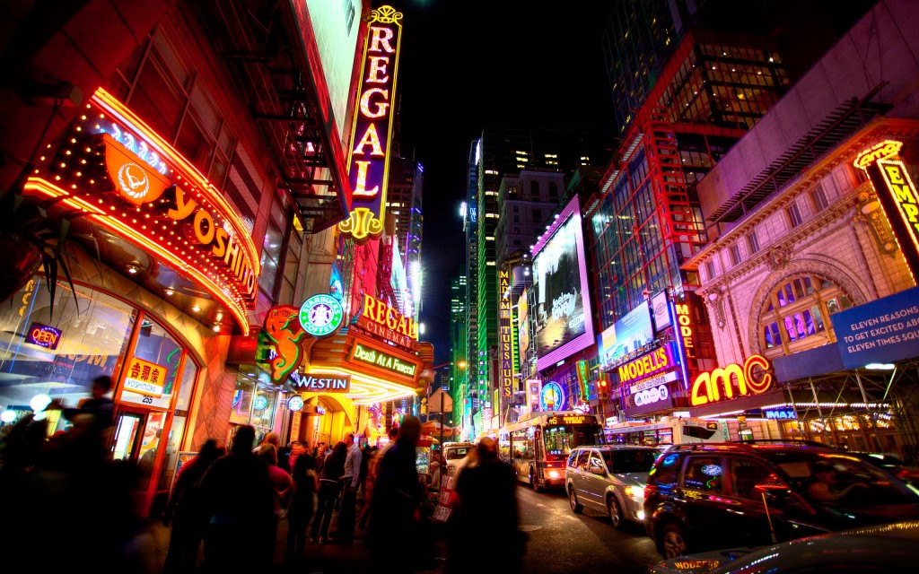 times square widescreen wallpapers