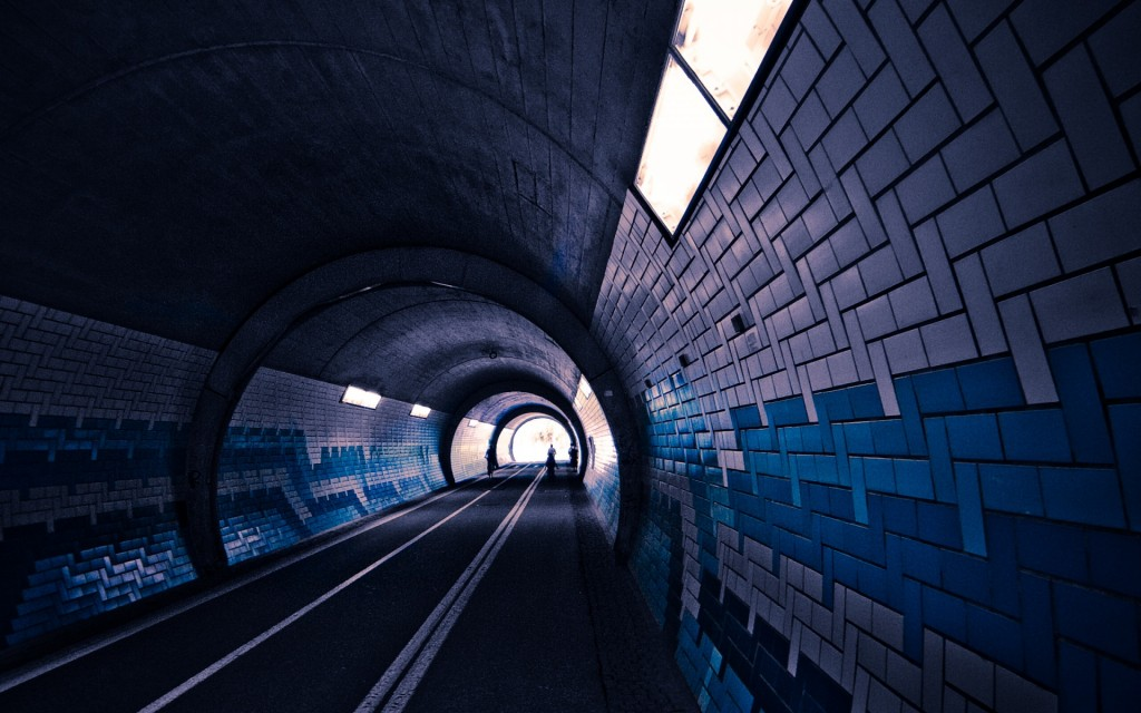 tunnel desktop wallpapers