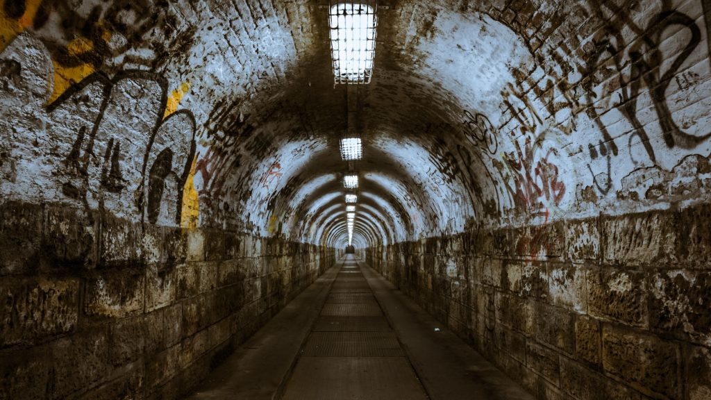 underground tunnel wallpapers