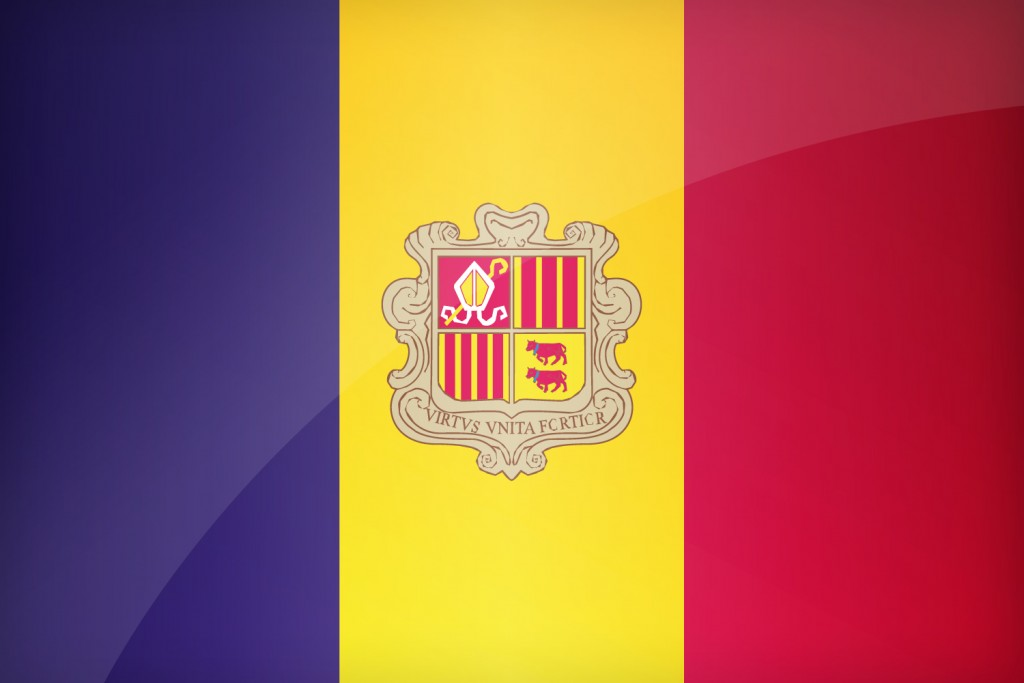 andorra flag computer wallpapers