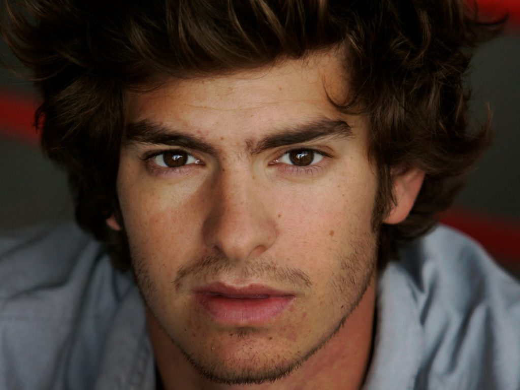 Andrew Garfield Face