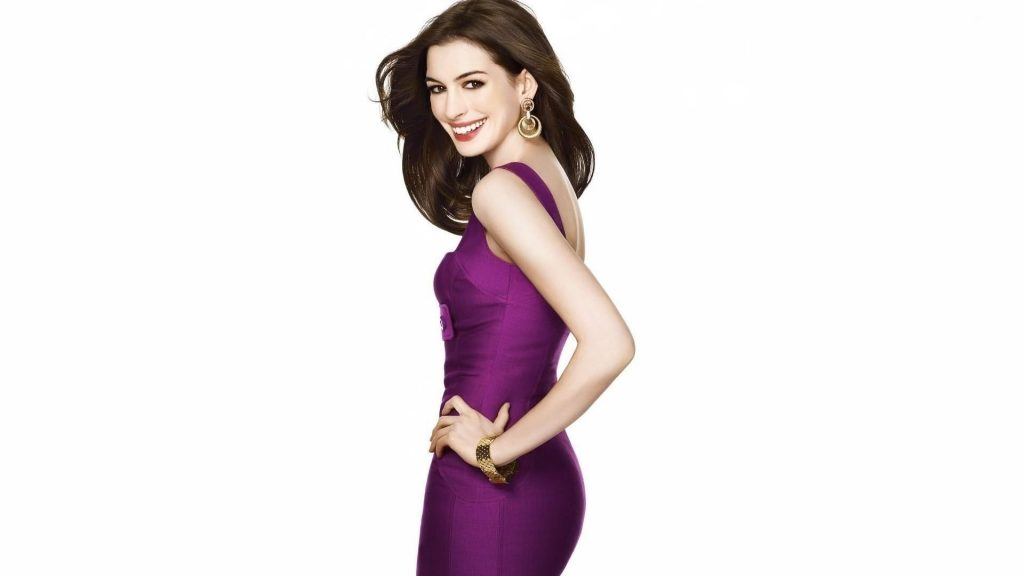 anne hathaway dress wallpapers