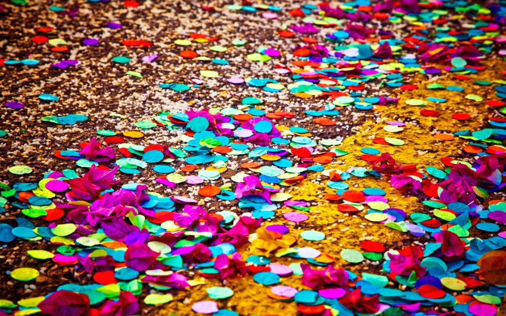 colorful confetti wallpapers