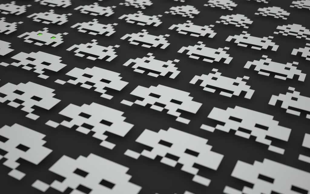 cool space invaders wallpapers