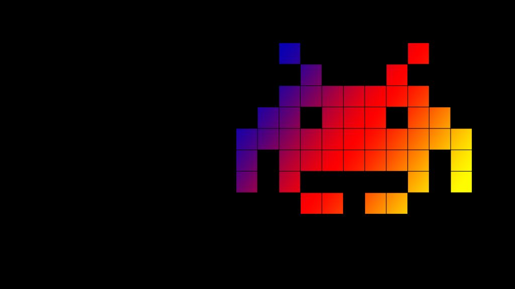 free space invaders wallpapers