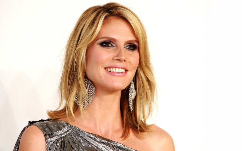 heidi klum smile wallpapers