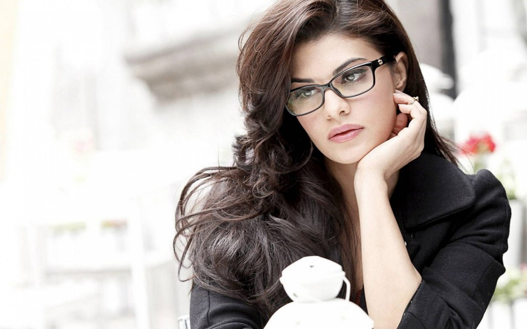 jacqueline fernandez glasses widescreen wallpapers