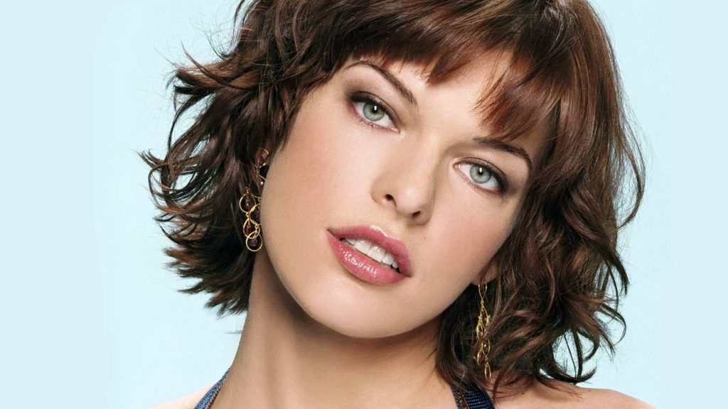 milla jovovich face wallpapers