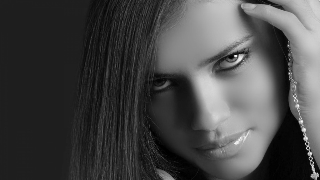 monochrome adriana lima wallpapers