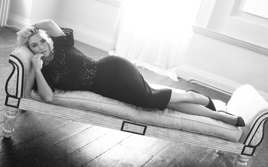 monochrome kate winslet wallpapers
