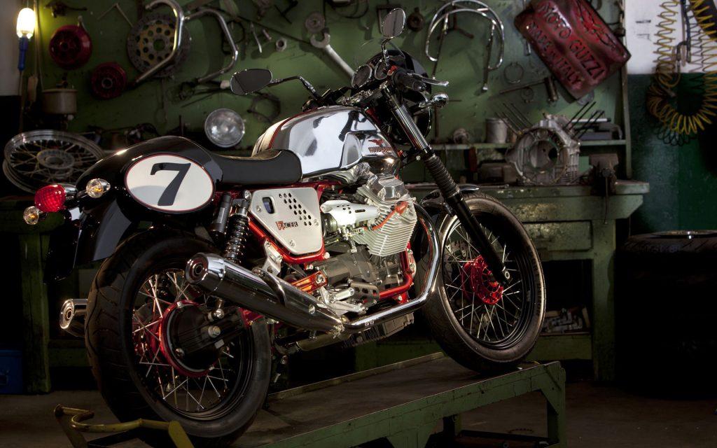 motorcycle garage desktop wallpapers