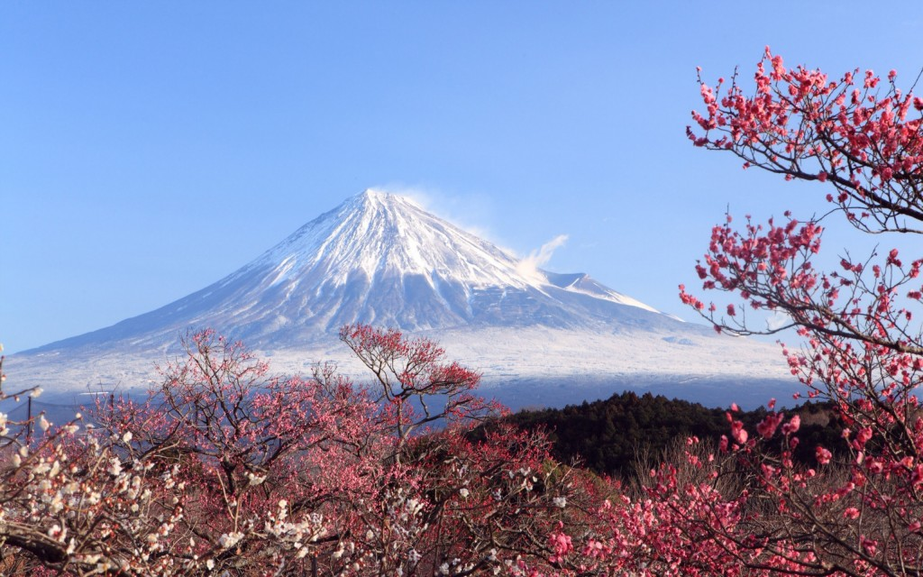 mt fuji japan wide wallpapers
