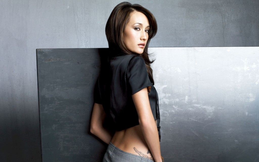 sexy maggie q wallpapers