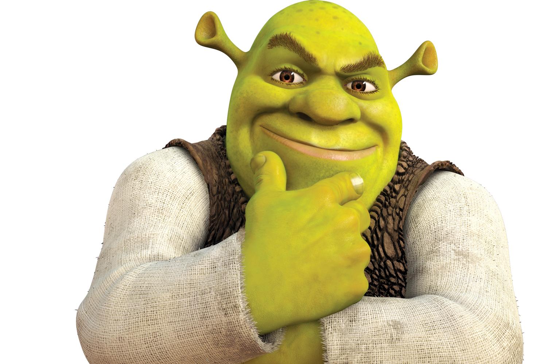Shrek anime pic