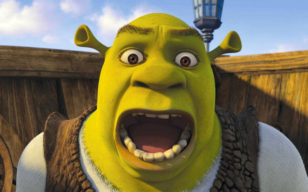 shrek face wallpapers